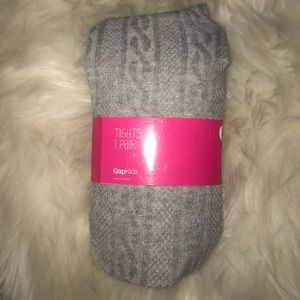 NWT Girls Cable-knit tights